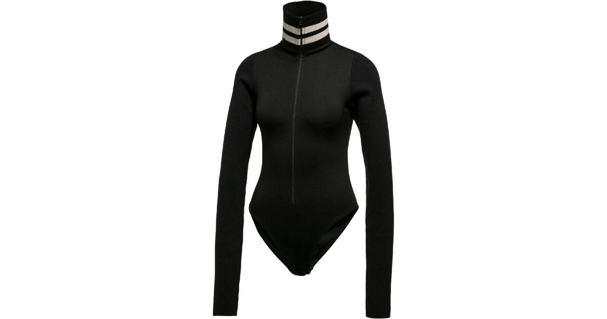 c033c2cb8d PUMA Black Fenty Women's Longsleeve Full Zip Bodysuit