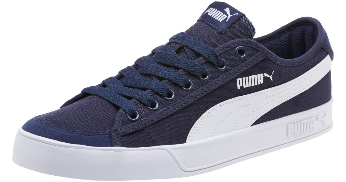 8ce66d9cb33d Lyst - PUMA Smash V2 Vulc Cv Men s Sneakers in Blue for Men