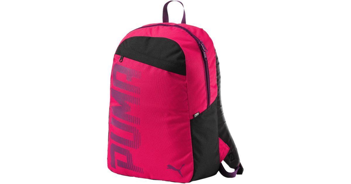 edb2910712 Lyst - PUMA Pioneer Backpack I in Pink