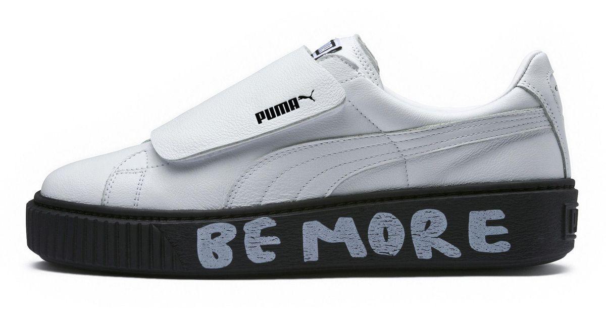 fcd9dae1fb21a7 Lyst - PUMA X Shantell Martin Platform Strap Sneakers in White