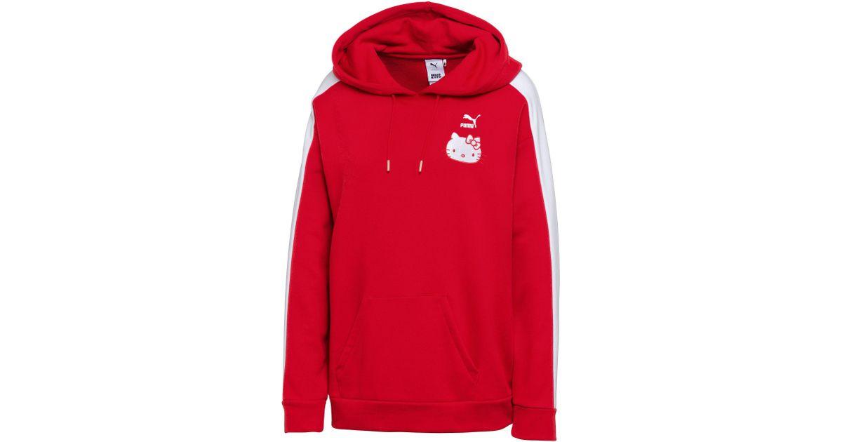 sports shoes 99540 7c3f5 PUMA Red X Hello Kitty Hoodie