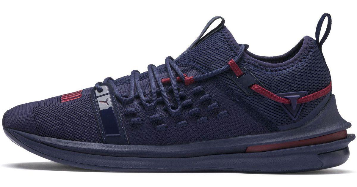 6ec952fb193b Lyst - PUMA Ignite Limitless Sr Fusefit Running Shoes in Blue for Men