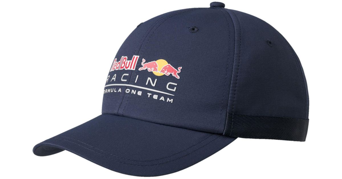 PUMA Blue Red Bull Racing Lifestyle Hat for men