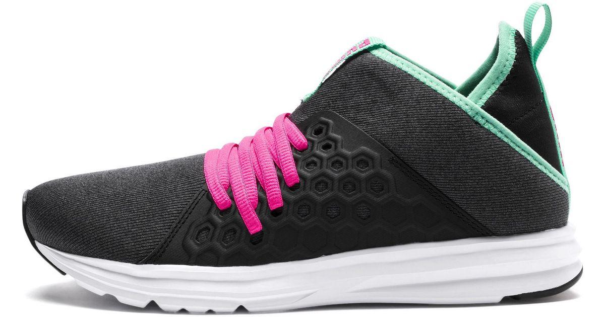 PUMA Black Enzo Nf Mid Training Shoes