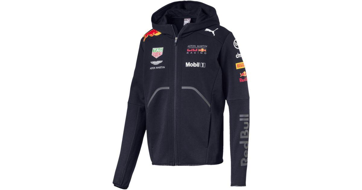 Lyst Puma Aston Martin Red Bull Racing Men S Team Jacket In Blue