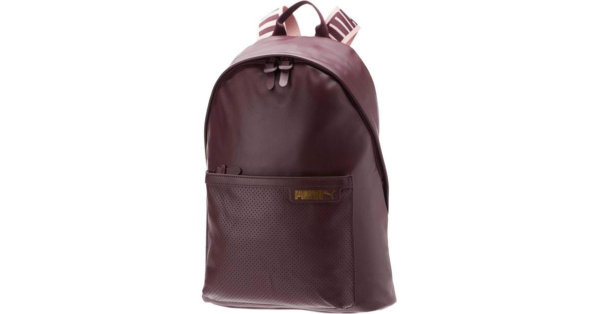 e9a92b4ef97 PUMA Purple Prime Cali Backpack