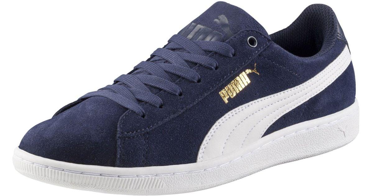 c01189132bdc Lyst - PUMA Vikky Softfoam Women s Sneakers
