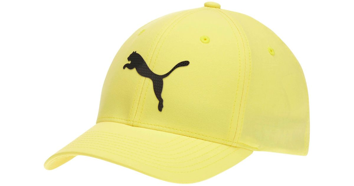 d4f7a101aaad8 Lyst - PUMA Lightweight Performance Body Flexfit Hat in Yellow for Men