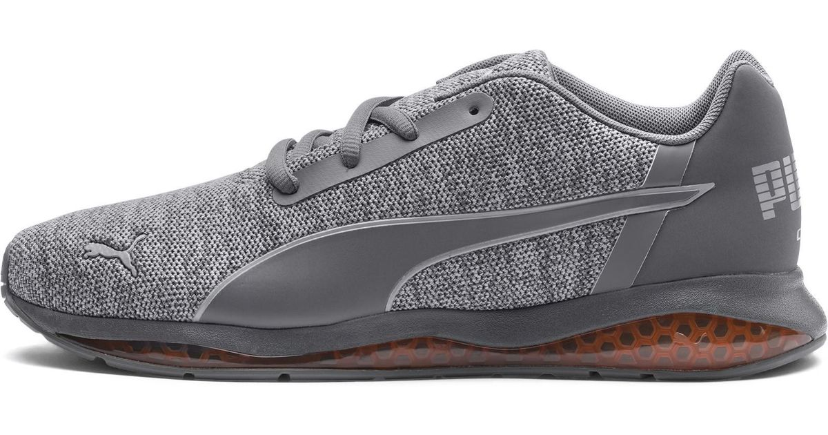Lyst - PUMA Cell Ultimate Knit Men s Running Shoes in Gray for Men 1dc297775