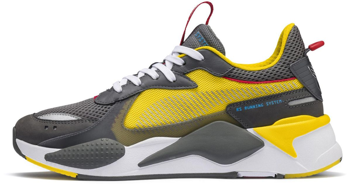 PUMA Lace Rs-x Transformers Bumblebee