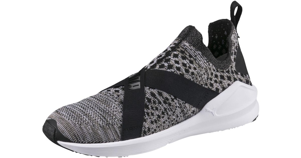 PUMA Black Fierce Evoknit Women's Training Shoes