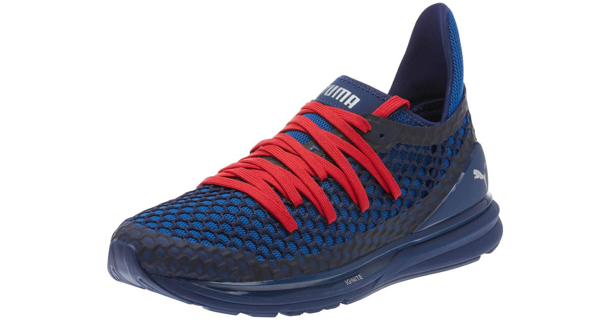 f199d8d7be4a13 Lyst - PUMA Ignite Limitless Netfit Je11 Men s Training Shoes in Blue for  Men
