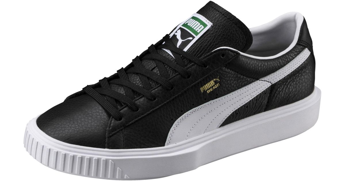 PUMA Breaker Leather ( Black/ White
