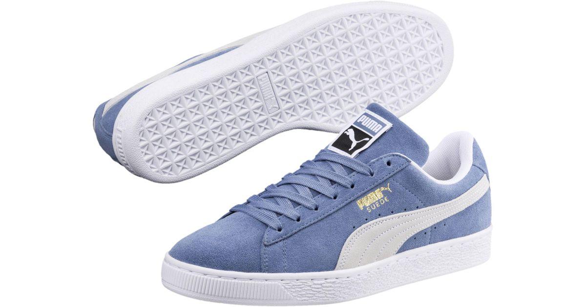 Lyst - PUMA Suede Classic in Blue for Men 86b57e4c5