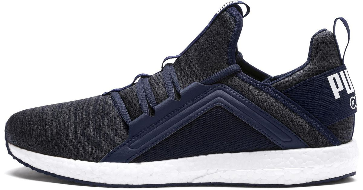 Lyst - PUMA Mega Nrgy Heather Knit Men s Running Shoes in Blue for Men 0170a15ae