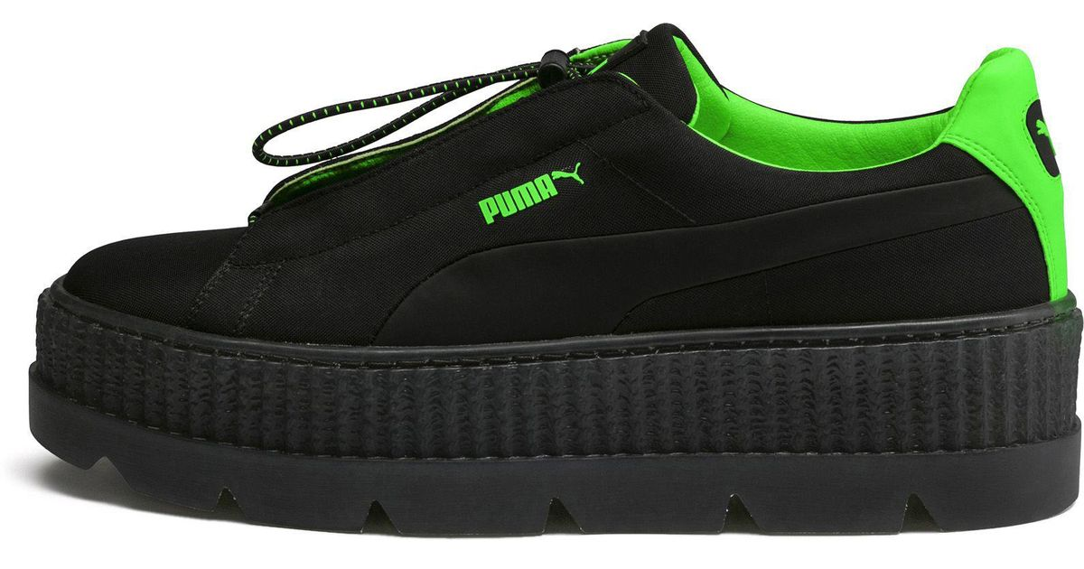 save off f7b7e 1b1cd PUMA Green Fenty By Rihanna Cleated Creeper Sneaker