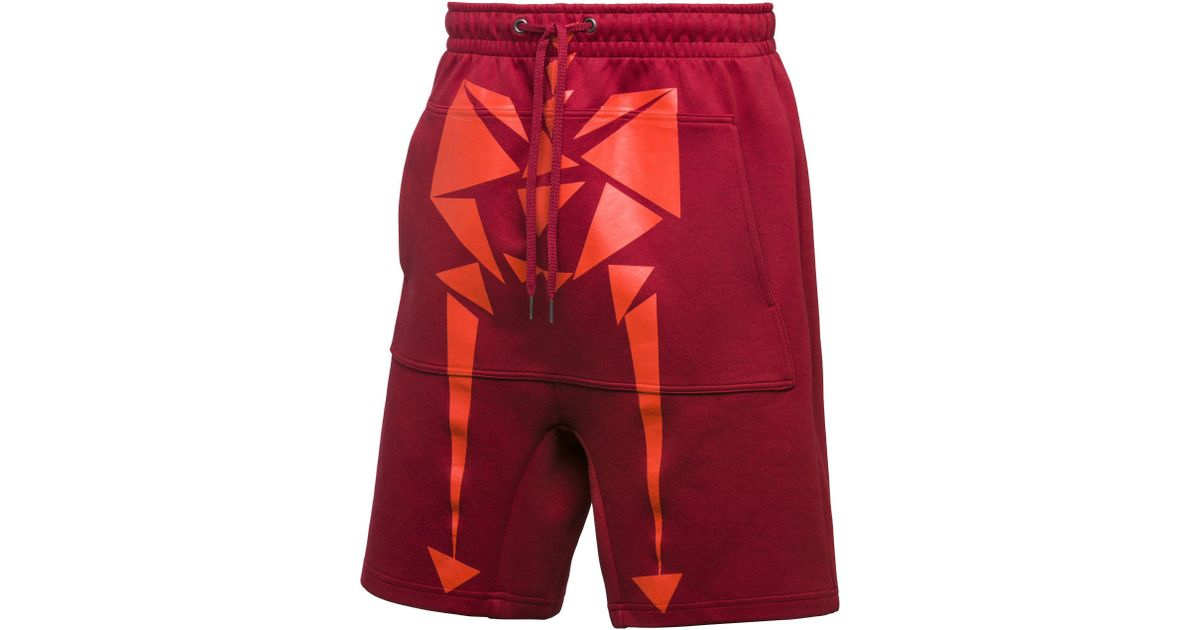 2daeb9411 Lyst - PUMA X Naturel Shorts in Red for Men