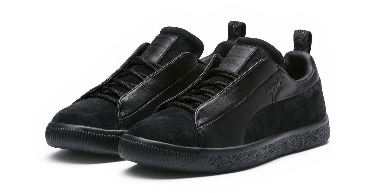 reputable site 3e1ee b6f06 PUMA Black X Naturel Clyde Fshn for men