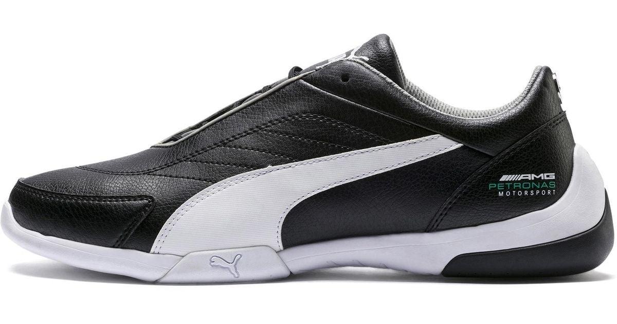 c92bb0d8a2e Lyst - PUMA Mercedes Amg Petronas Kart Cat Iii Sneakers in Black for Men