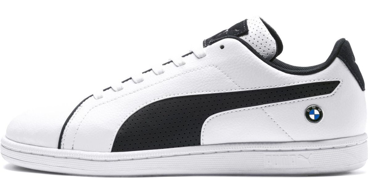Lyst - PUMA Bmw M Motorsport Court Perf Sneakers in White for Men 09546f9b4