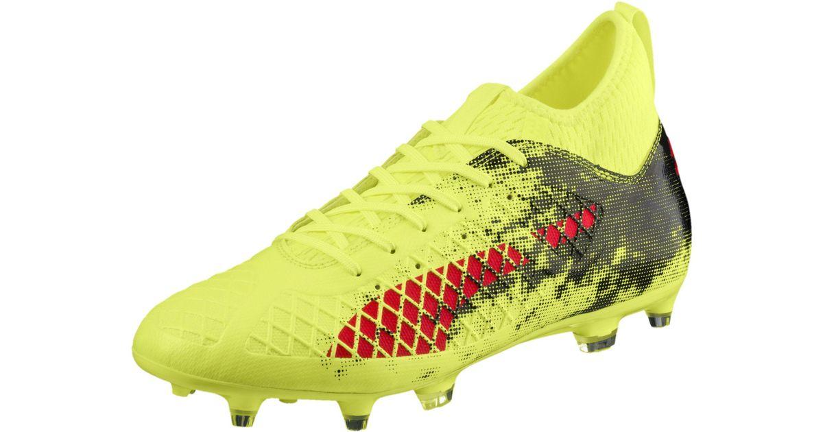 bdf54c0a4c6919 Lyst - PUMA Future 18.3 Fg ag Men s Soccer Cleats in Yellow for Men