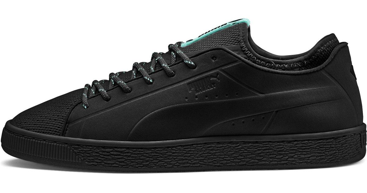 b9014975cf PUMA Black X Diamond Basket Sock Lo Sneakers