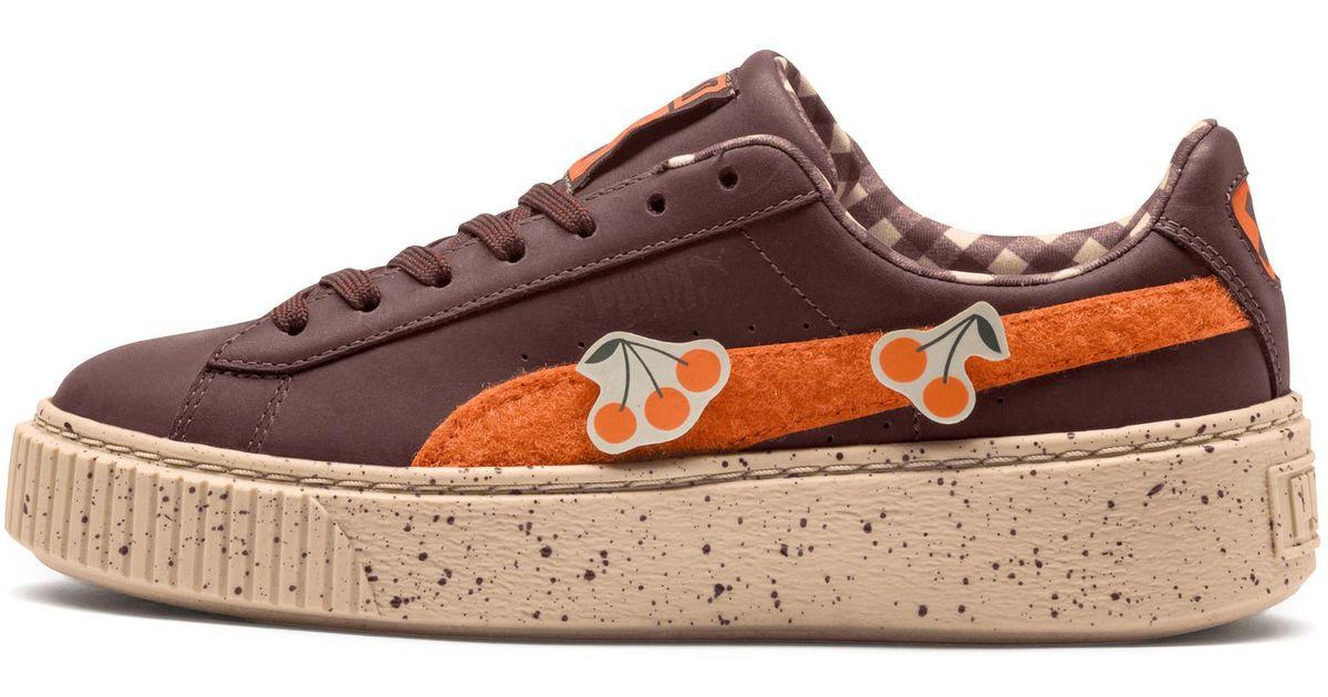 7438a098cd PUMA Multicolor X Tinycottons Basket Platform Jr Sneakers for men