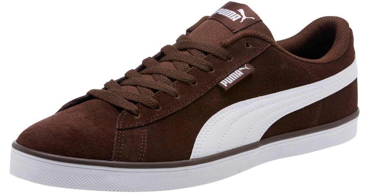 PUMA Urban Plus Suede Sneakers in Brown