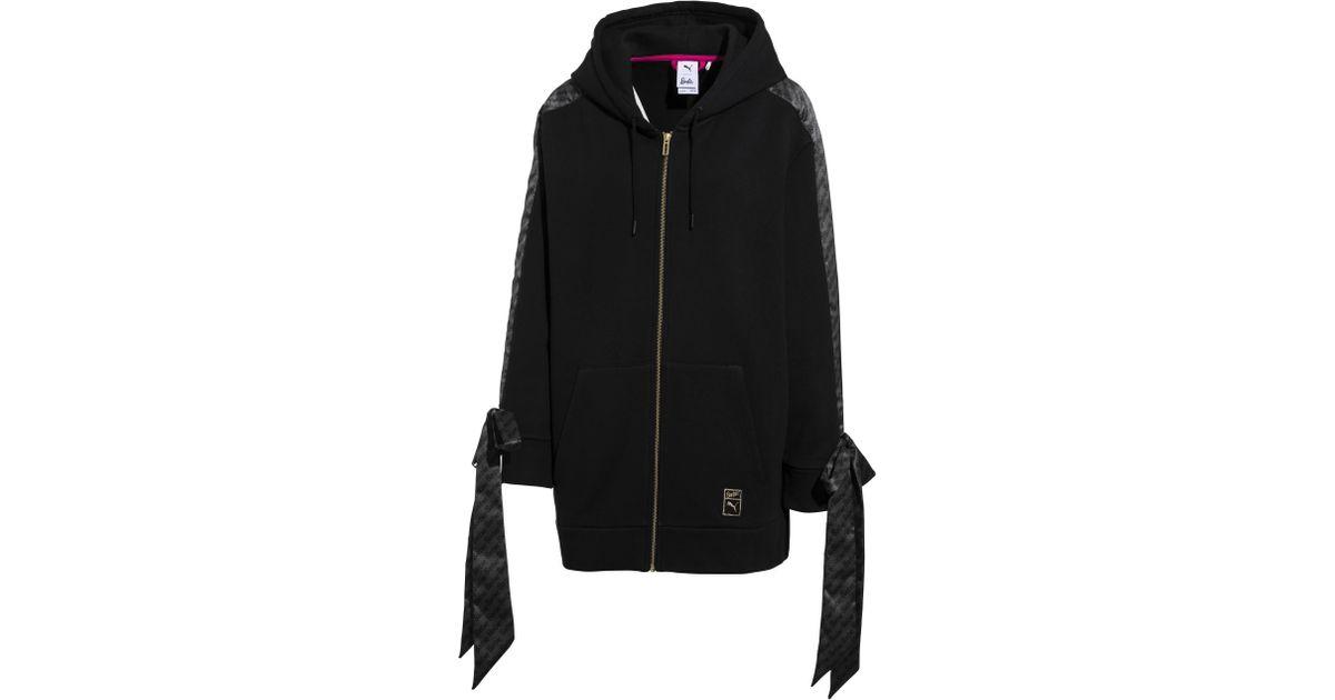 f6aff917e1 Lyst - PUMA X Barbie Zip-up Women s Hoodie in Black