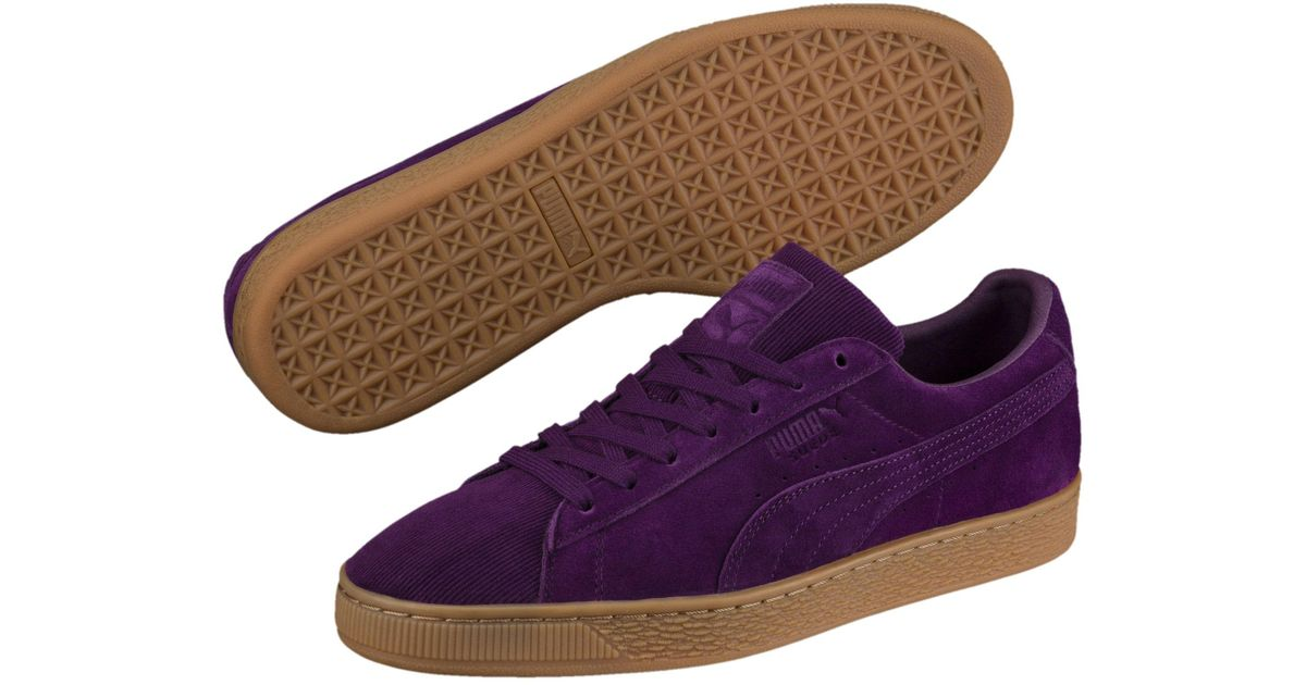 Lyst - PUMA Suede Classic Pincord Sneakers in Purple for Men a4601b8c7