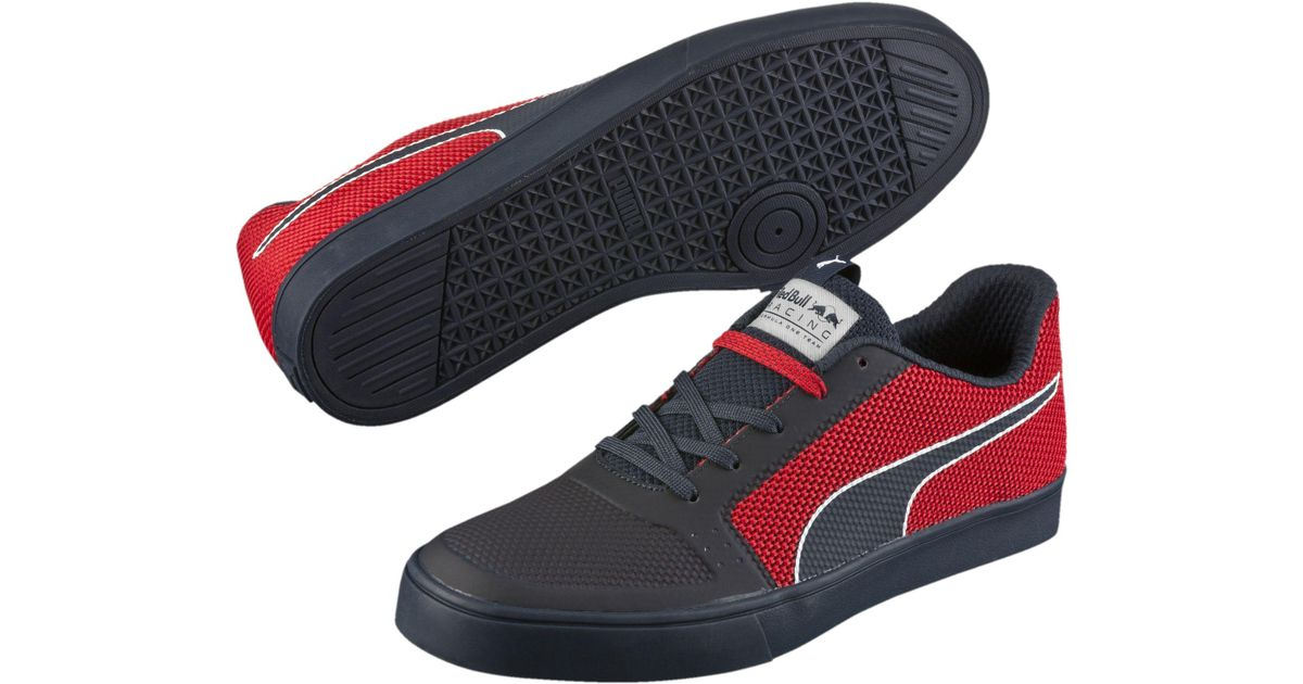 3497e933d28 Lyst - PUMA Red Bull Racing Wings Vulc Men s Shoes in Red for Men