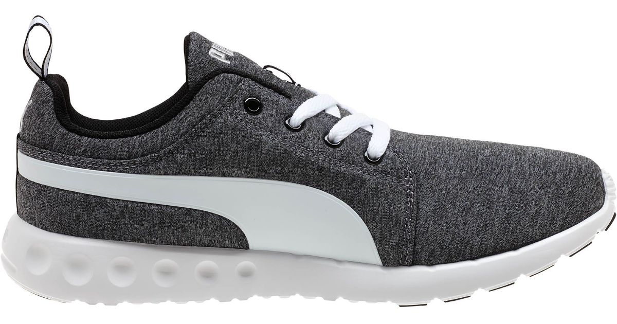 cb94833537b Lyst - PUMA Carson Runner Heather Men s Running Shoes in Gray for Men