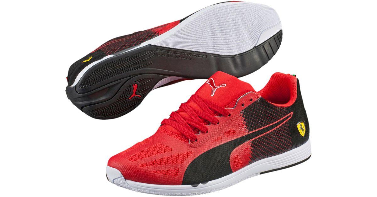 a9c7db4afb0 Lyst - Puma Ferrari Evospeed Sock Men s Shoes in Black for Men