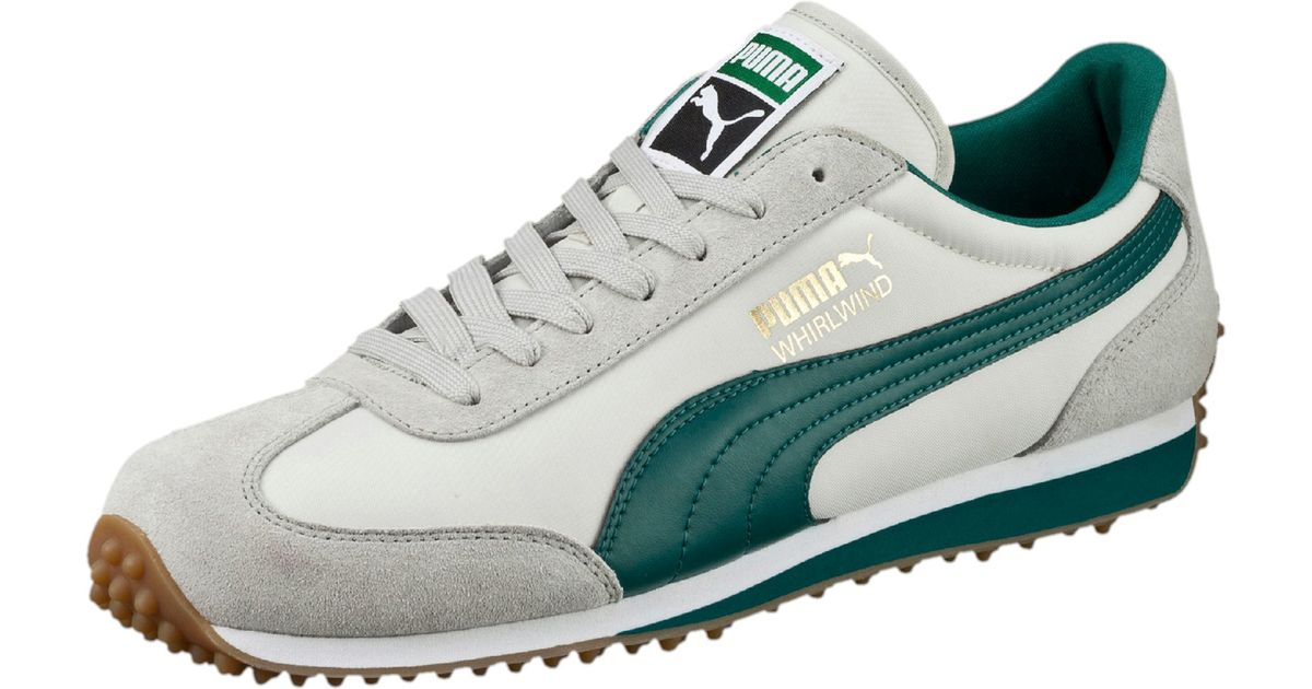 PUMA Green Whirlwind Classic Men's Sneakers for men
