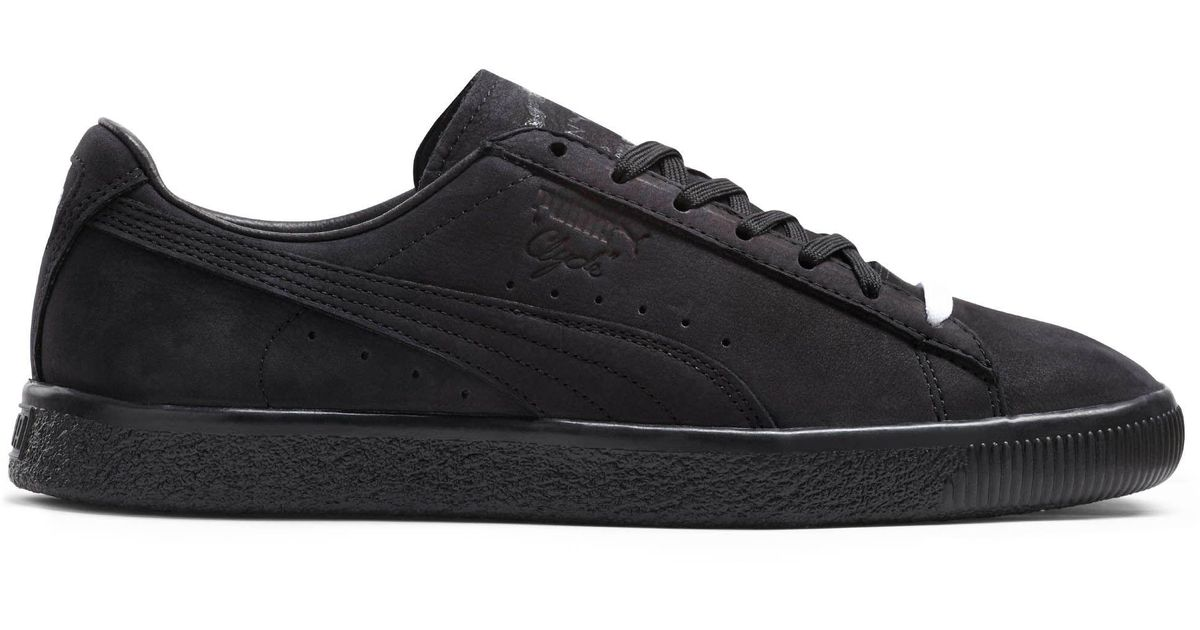 d80da1be319f Lyst - PUMA Clyde Fleur De Lis En Noir Men s Sneakers in Black for Men