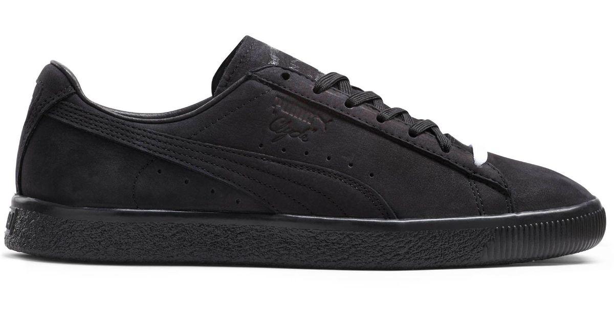 d80da1be319f Lyst - PUMA Clyde Fleur De Lis En Noir Men s Sneakers in Black for Men