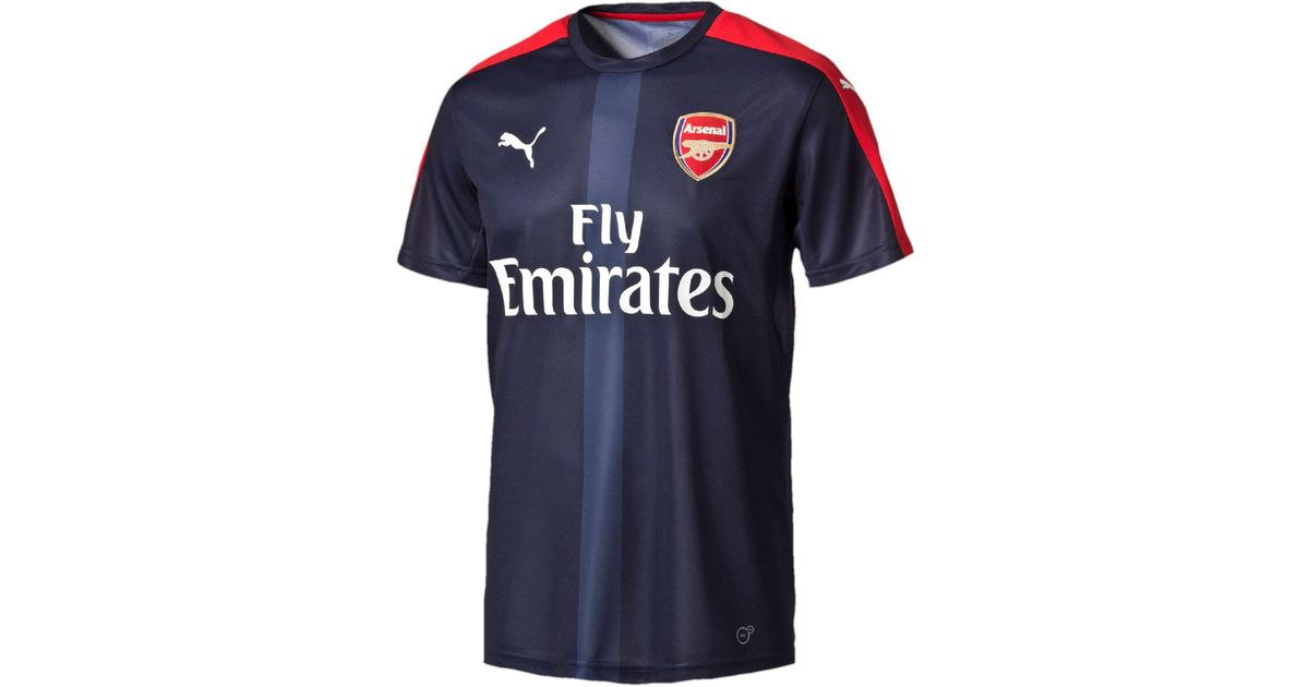 7664856466c Lyst - PUMA Arsenal Stadium Training Jersey in Blue for Men