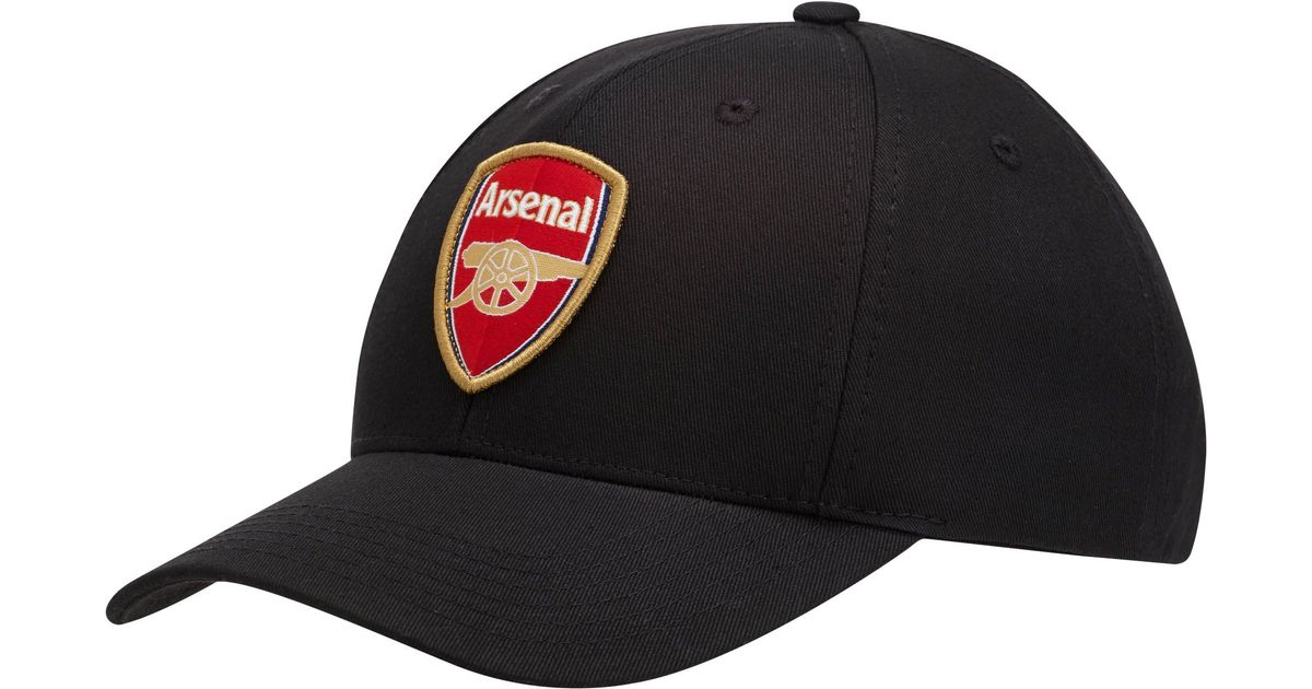 47160a1faf8 ... where can i buy lyst puma arsenal shield snapback hat in black for men  97443 3c13b