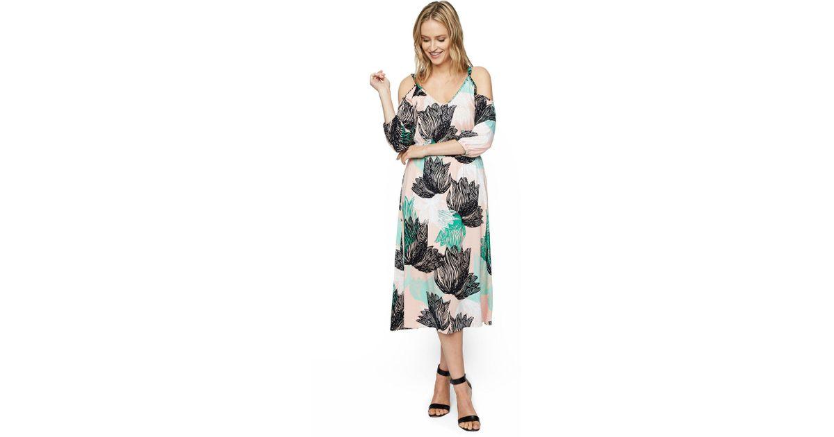 cafe7f816fd Rachel Pally Ariana Dress Print - Agave - Lyst