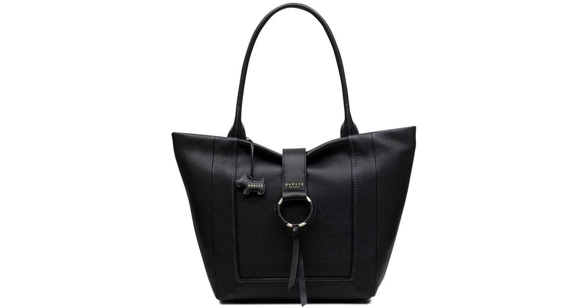 d14ac4ce4d Radley Blickling Hall Large Zip-top Shoulder Bag in Black - Lyst