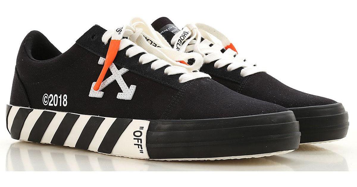 729b038f69fe Lyst - Off-White c o Virgil Abloh Sneakers For Men in Black for Men