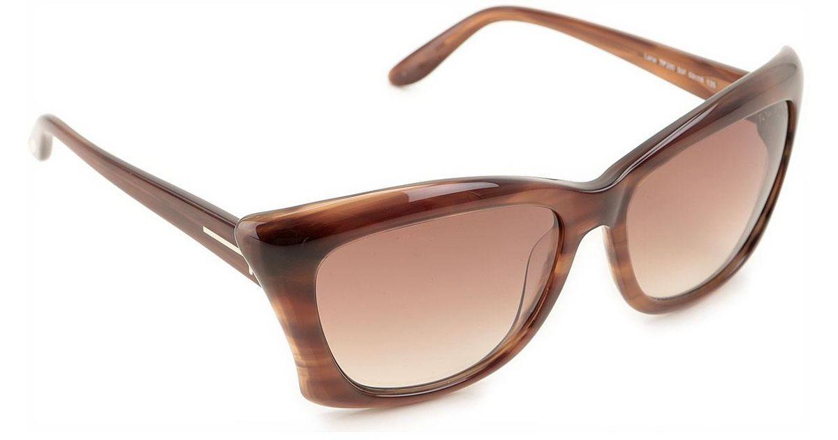 489a6d5b6a Lyst - Gafas y Lentes de Sol Baratos en Rebajas Tom Ford