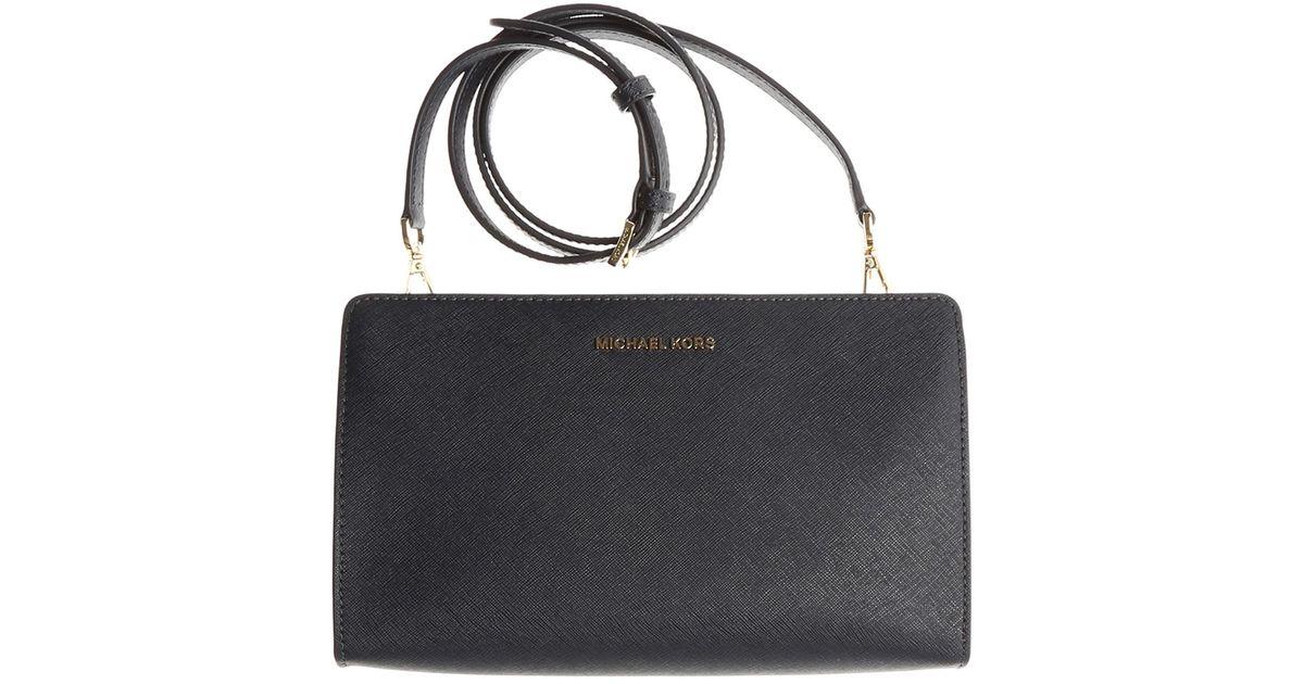8d9df4ae1c66 Lyst - Michael Kors Shoulder Bag For Women On Sale in Blue