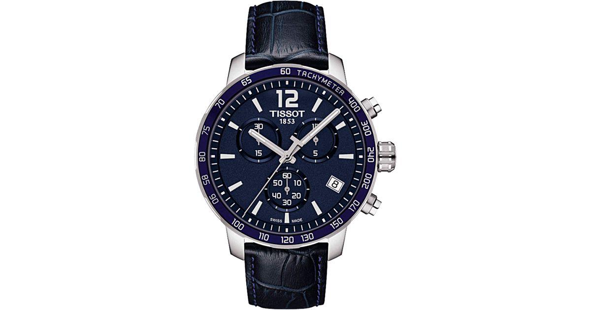 80643e65c53e Reloj para Hombre Baratos en Rebajas Tissot de hombre de color Azul - Lyst