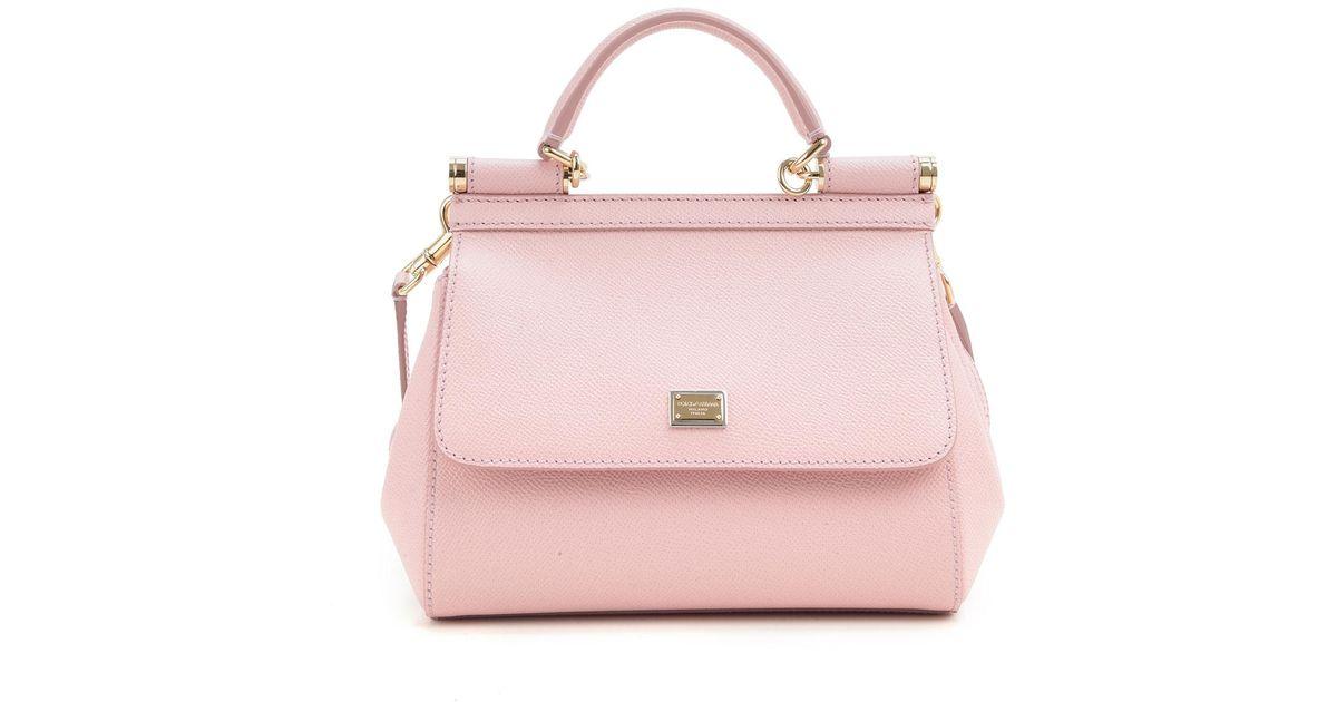 0f593dd259 Lyst - Dolce   Gabbana Shoulder Bag For Women in Pink