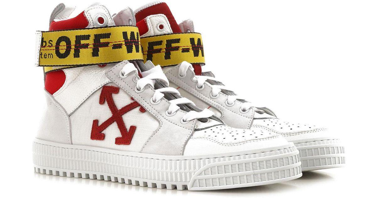 Sneaker Homme Dentelle Off White C O Virgil Abloh Pour Homme En Coloris Blanc Lyst