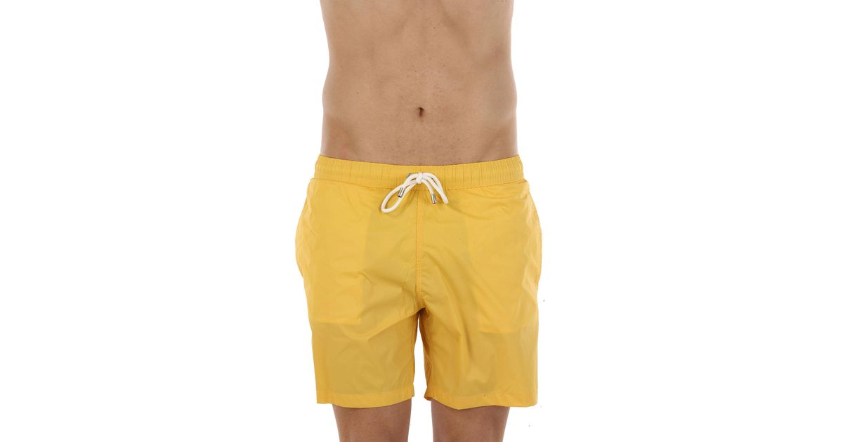 Boxer Largo Hartford De Hombre Bañador Color Yellow 4ARjL53