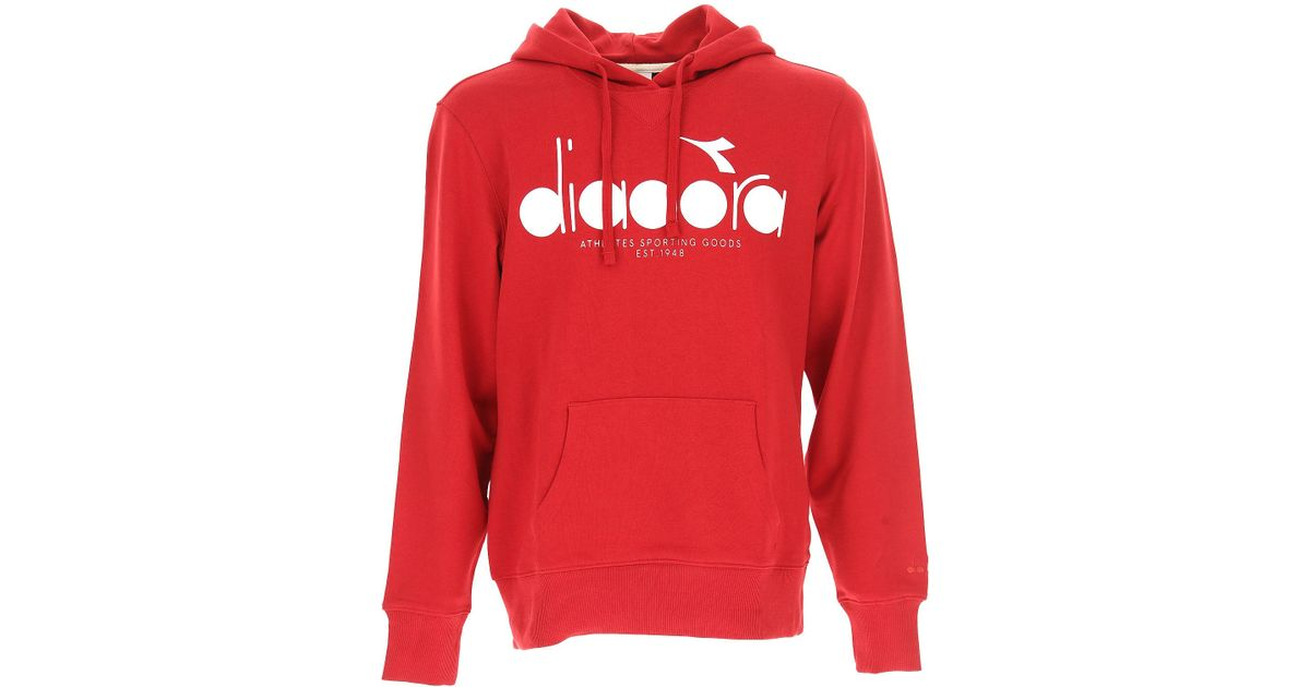 Diadora Red Clothing For Men for men