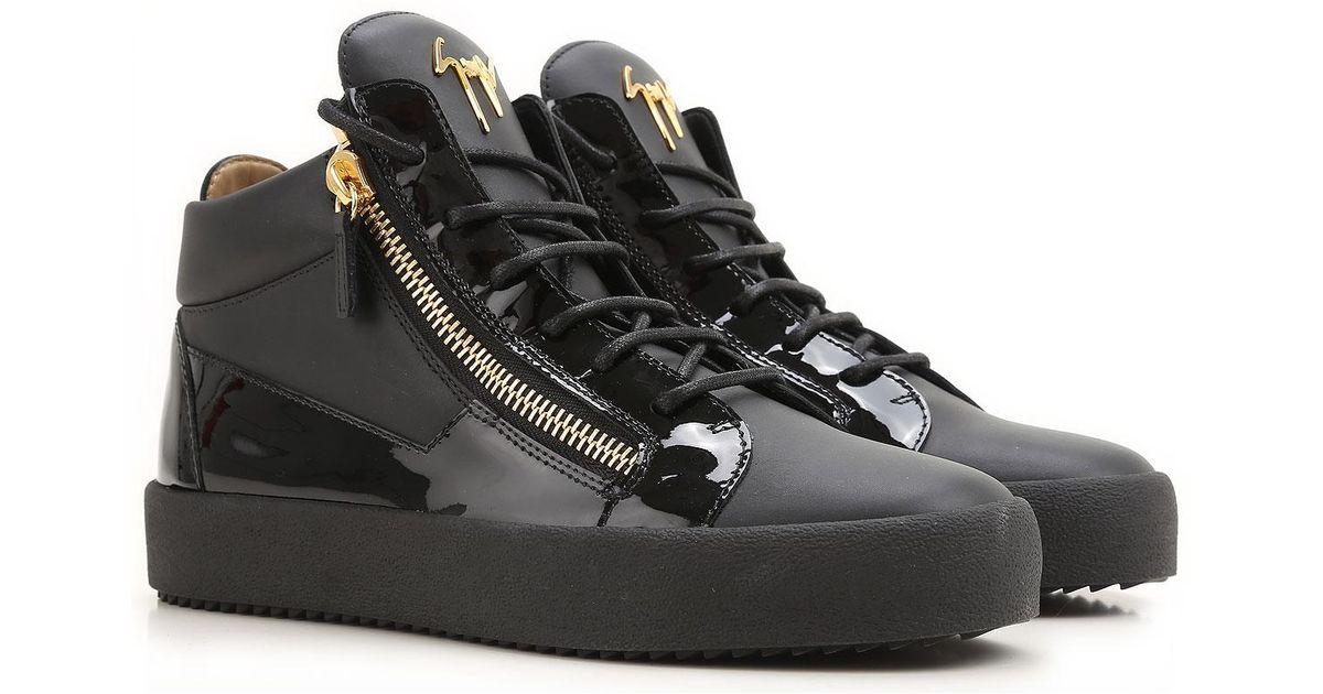 Sneaker Homme Pas cher en Soldes Outlet Giuseppe Zanotti pour homme en coloris Black