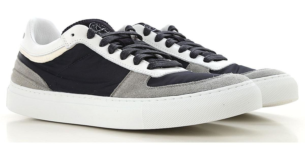 Stone Island Lace Sneakers For Men On